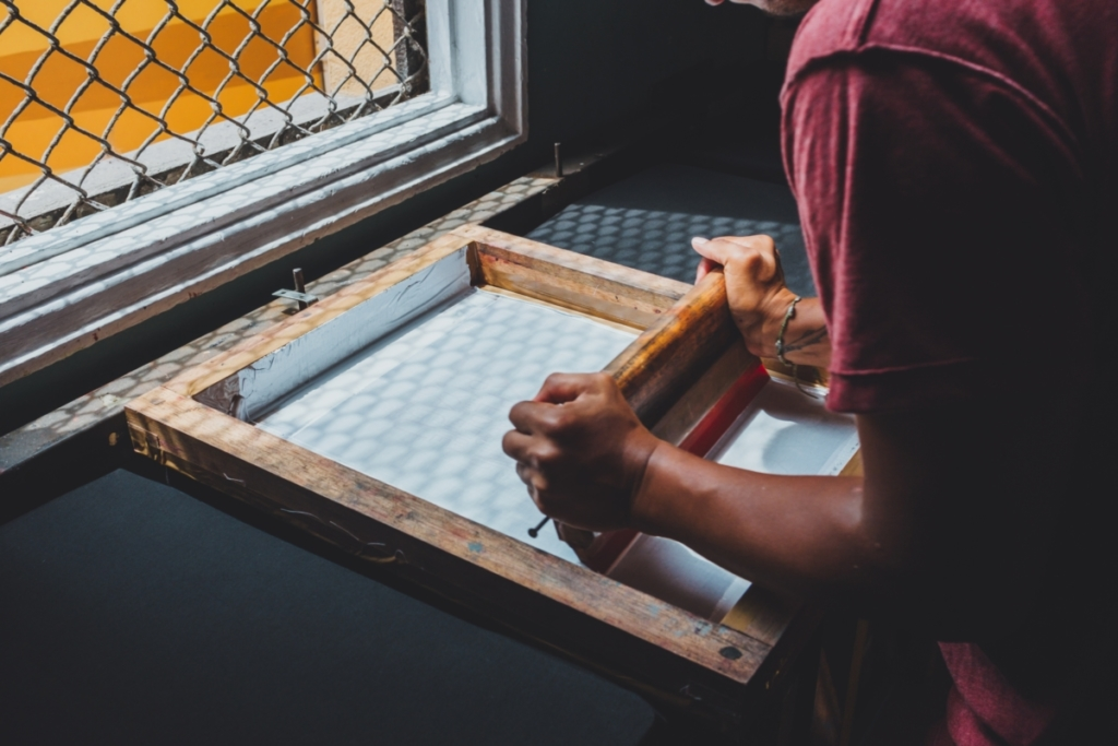 Screen Printing | Photo by emarts emarts on Unsplash