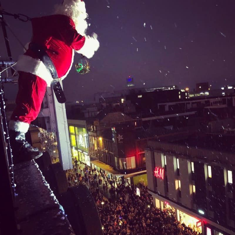 Santa at Fenwick